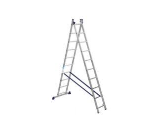 «На Высоте» 2х10 Двухсекционная лестница МХ-6...