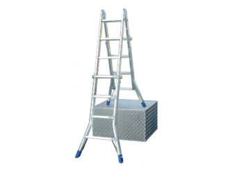 «Krause» Stabilo 4х5 Шарнирная лестница телес...