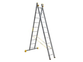 «Алюмет» 2х10 P2 9210 Двухсекционная лестница