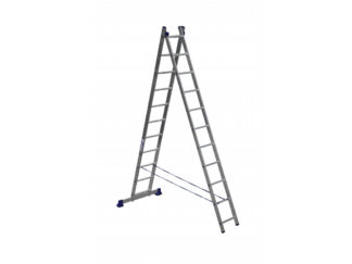 «Алюмет» 2х11 Двухсекционная лестница 5211