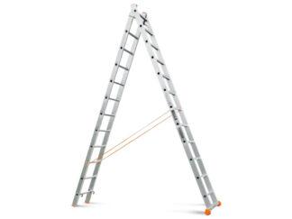 «Эйфель» Классик 2х12 Двухсекционная лестница