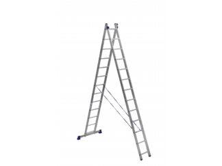 «Алюмет» 2х13 Двухсекционная лестница 5213