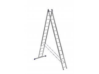 «Алюмет» 2х15 Двухсекционная лестница HS2 621...