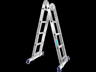 «Алюмет» 2х5 Шарнирная двухсекционная лестниц...
