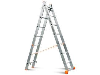 «Эйфель» Классик 2х7 Двухсекционная лестница