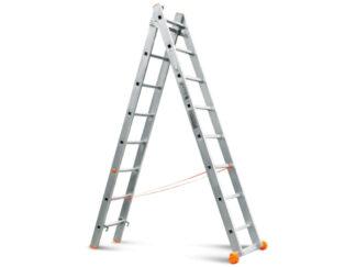 «Эйфель» Классик 2х8 Двухсекционная лестница