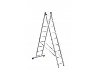 «Алюмет» 2х9 Двухсекционная лестница 5209
