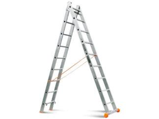 «Эйфель» Классик 2х9 Двухсекционная лестница
