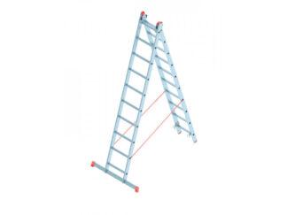 «SARAYLI» 2х10P Лестница двухсекционная алюми...