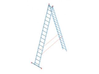 «SARAYLI» 2х17 Лестница двухсекционная алюмин...