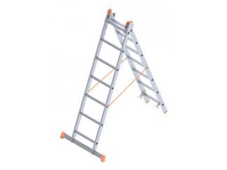 «SARAYLI» 2х7 Лестница двухсекционная алюмини...