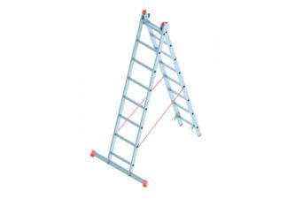 «SARAYLI» 2х8 Лестница двухсекционная алюмини...
