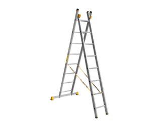 «Алюмет» 2х8 P2 Двухсекционная лестница 9208