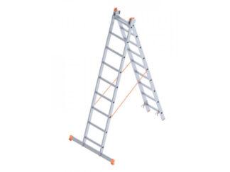 «SARAYLI» 2х9P Лестница двухсекционная алюмин...