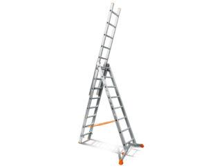«Эйфель» Ювелир 3х8 Трехсекционная лестница