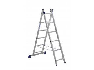 «Алюмет» 2х6 Двухсекционная лестница 5206