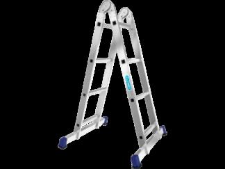 «Алюмет» 2х3 Шарнирная двухсекционная лестниц...