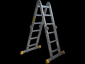 «Алюмет» 4х3 Шарнирная лестница трансформер T...