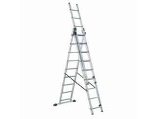 «LWI» 3х8 Трехсекционная Алюминиевая лестница...