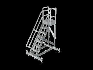 «Sarayli» 9 ст. Лестница с платформой с настр...