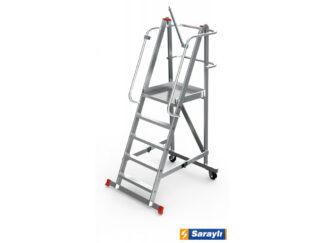 «Sarayli» 9 ст. Лестница с платформой складна...