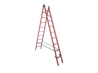 Лестница-стремянка ССД-У 2×9 универсальная ди...